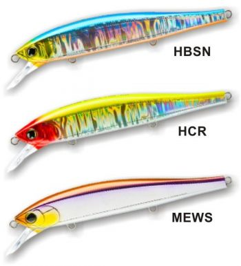 R1381 HARDCORE MINNOW FLAT 130SP